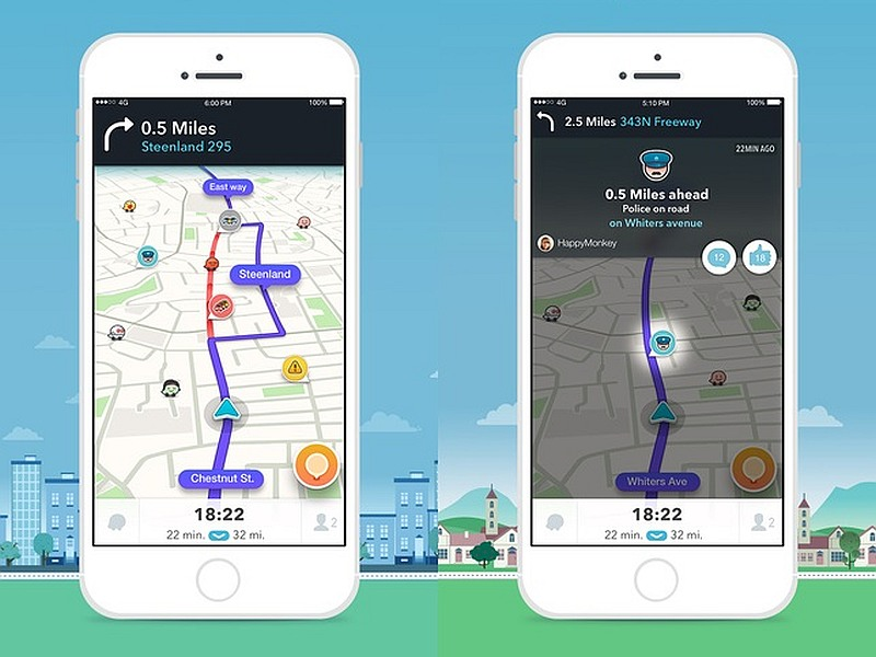 best traffic app for iphone waze v4 0 1 update brings 3d touch support for iphone 16703