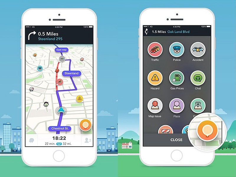 Google's Waze 4 0 Update Brings Redesigned Interface and More