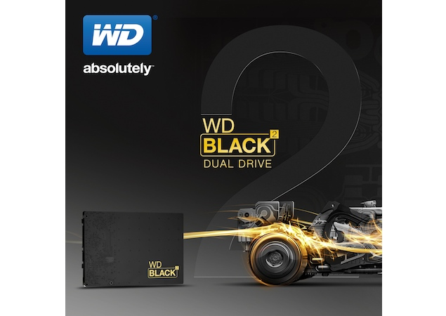 WD introduces 2.5-inch dual-drive with 120GB SSD + 1TB HDD