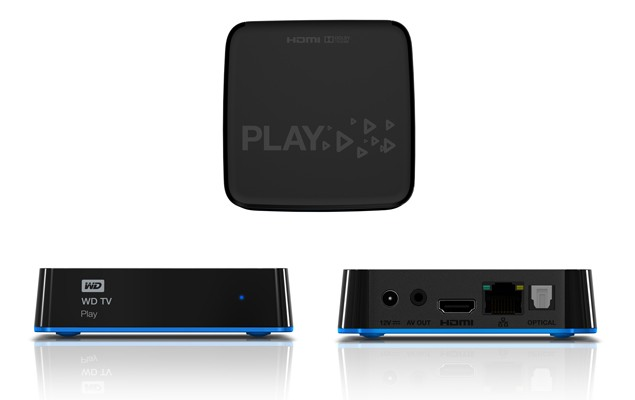 Western Digital launches $69.99 WD TV Play media player with built-in Wi-Fi