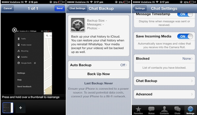 WhatsApp for iPhone now a free download, brings iCloud backups and