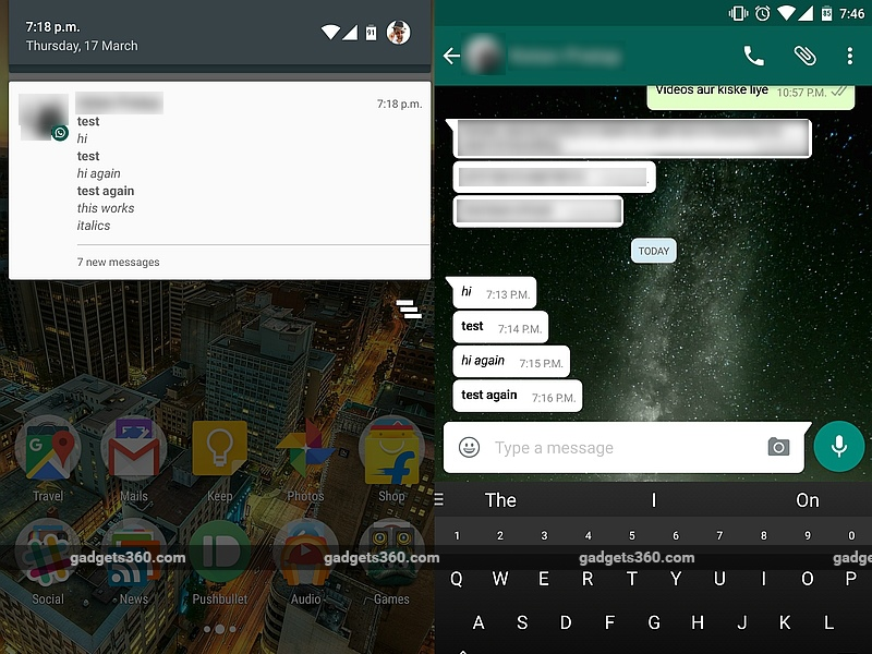 WhatsApp Update Brings Text Formatting, Improved File Sharing, and More