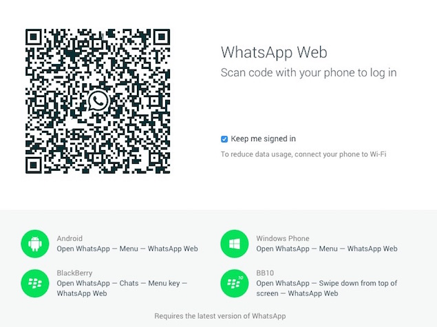 WhatsApp Web Brings Popular Messaging App to Your Desktop