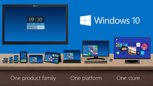 Windows 10 Unveiled; Microsoft Skips Windows 9 to Emphasise Advances