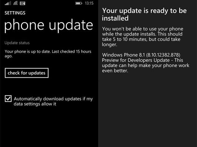 Microsoft Updates Windows Phone 8.1 Developer Preview Based on Feedback