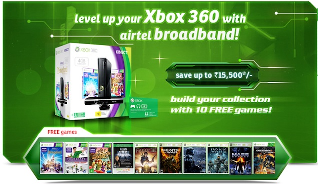 Microsoft Ties Up With Airtel To Offer Free Xbox Live Gold