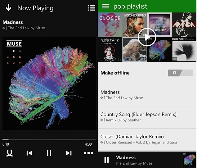 Xbox Music With OneDrive Integration Now Available for Android and