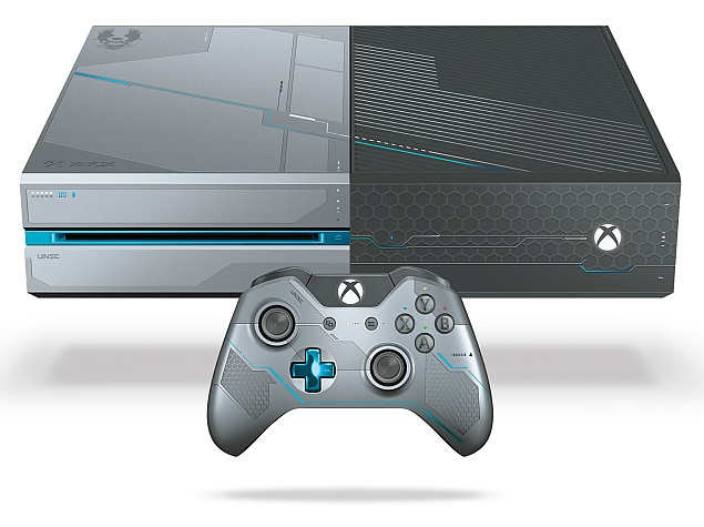 a696d5404bd Microsoft Launches Xbox One Halo 5: Guardians Limited Edition Bundle ...