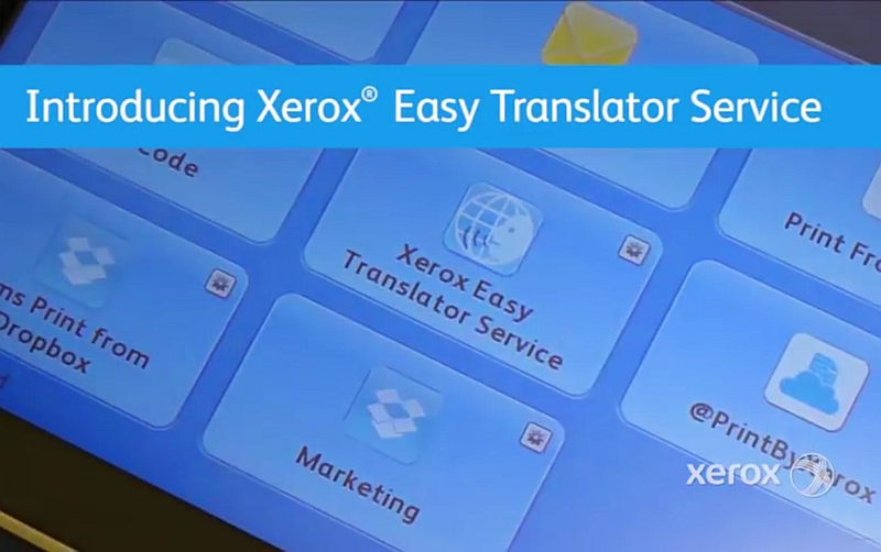 Xerox's New Service Can Translate and Print Scanned