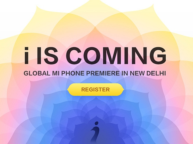 Xiaomi to Hold 'Global Mi Phone Premiere' in India on April 23