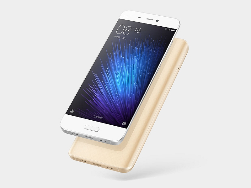 Xiaomi Mi 5 India Launch Today