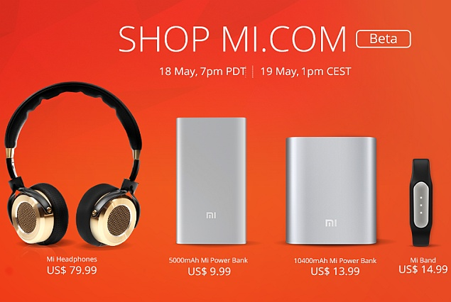 Xiaomi Now Selling Accessories in US and Europe via Mi.com