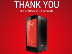 50,000 Redmi 1S Smartphones Go Out of Stock in 11 Seconds: Xiaomi