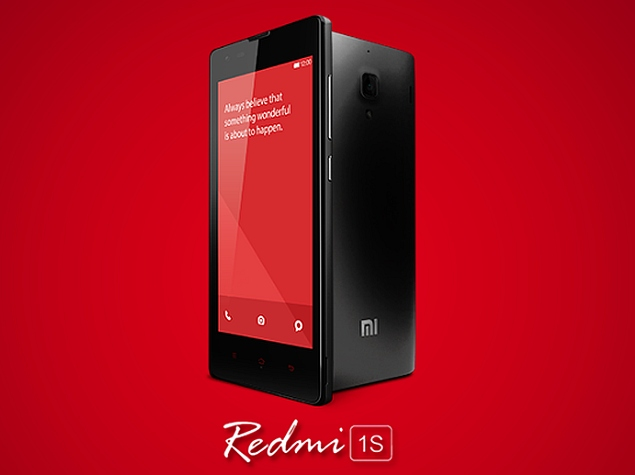 25,000 Xiaomi Redmi 1S Smartphones to Go on Sale Tuesday