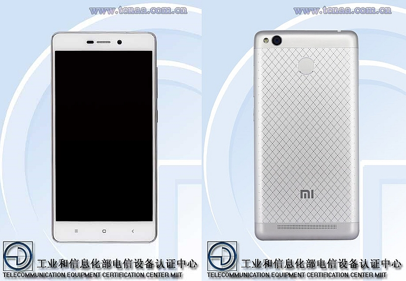 Xiaomi Redmi 3 With Fingerprint Sensor Spotted on Certification Site