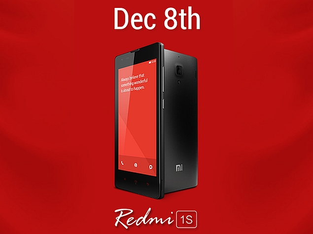 Xiaomi Redmi 1S to Go on Sale Without Registration on Monday
