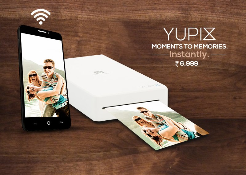 Yu YuPix Compact Printer for Android, iOS Launched at Rs, 6,999