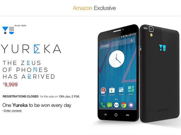 Micromax's Yu Yureka Registrations Close Early Due to 'Overwhelming Response'