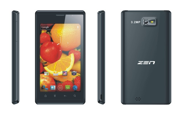 Zen Mobile launches dual-SIM Ultraphone U4 with 4.3-inch display, Android 2.3