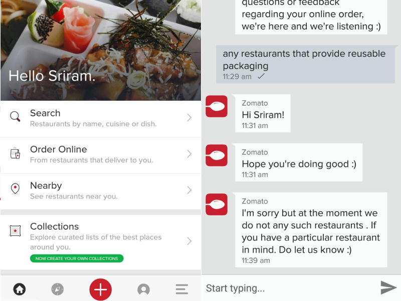 Reliable Food Reviews