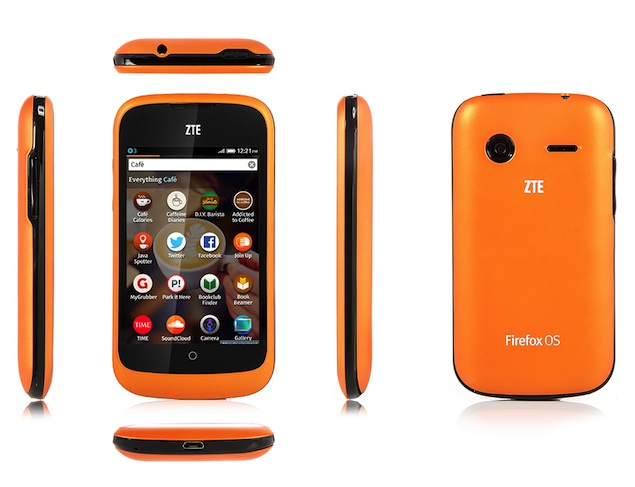 ZTE Open Firefox OS phone available online for Rs. 6,990