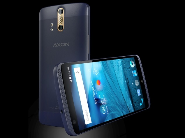 ZTE Axon With 4GB RAM, Dual-Lens Camera, Snapdragon 810 ...