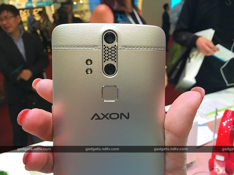 ZTE Axon Elite With Fingerprint Sensor Launched at IFA 2015
