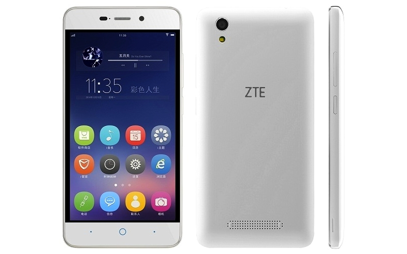 ZTE Blade D2 With 5-Inch Display, 4000mAh Battery Launched