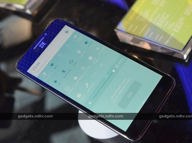 ZTE Grand S in the First Test