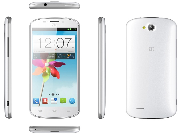 ZTE N919D Dual-SIM (GSM-CDMA) Smartphone Launched at Rs. 6,999