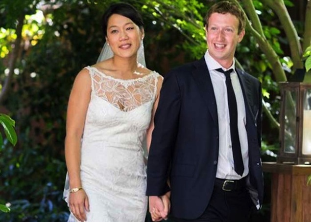 Zuckerberg, wife second biggest charitable donors in the US