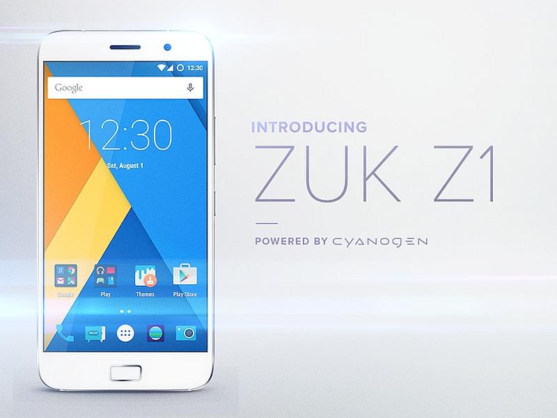 Lenovo Zuk Z1 International Version With Cyanogen OS 12.1 Due in October
