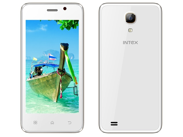 Intex Aqua Amoled With Android 4.4.2 KitKat Launched at Rs. 4,540