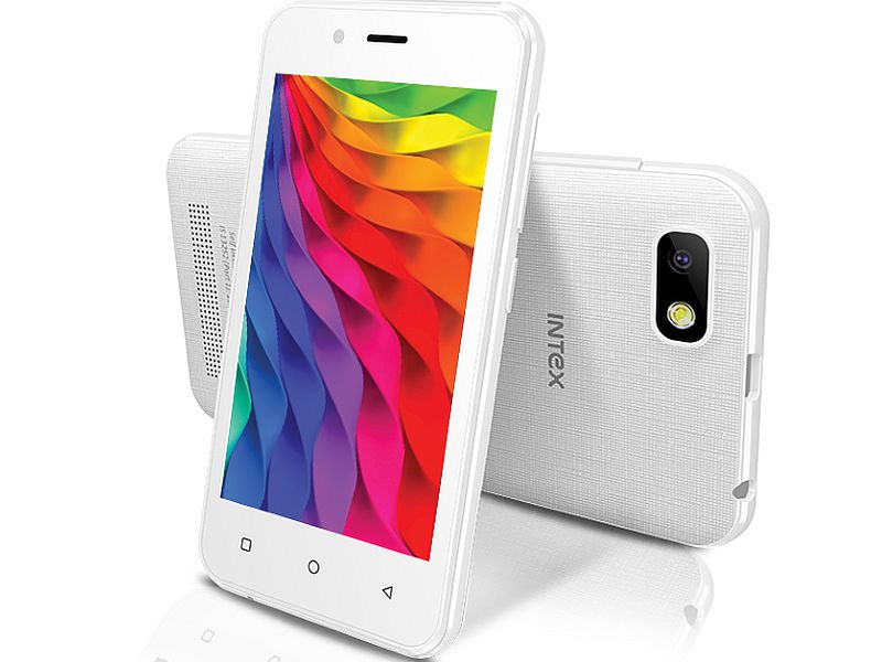 Intex Aqua Play With Android 5.1 Lollipop Launched at Rs. 3,249