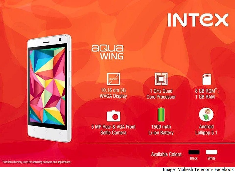 Intex Aqua Wing, Aqua Raze Budget Phones Reportedly Launched in India