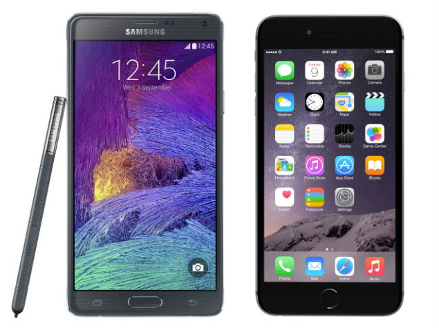 Samsung Galaxy Note 4 vs. iPhone 6 Plus Battle to Commence in India This Friday