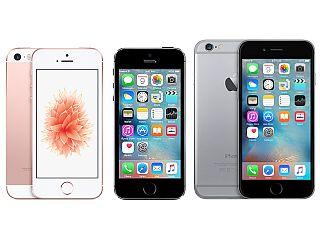 Apple iPhone SE vs iPhone 5s vs iPhone 6s