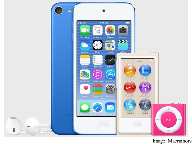 iPod touch, nano, and shuffle Spotted in Unreleased Colours on iTunes
