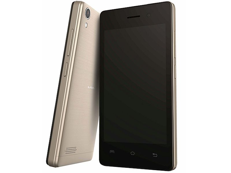 Lava A52 Dual-SIM Android Smartphone Launched at Rs. 3,599