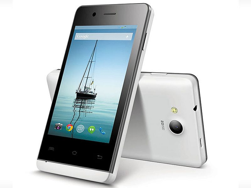 Lava Flair E2 With 3G Support, 3.5-Inch Display Launched at Rs. 2,999