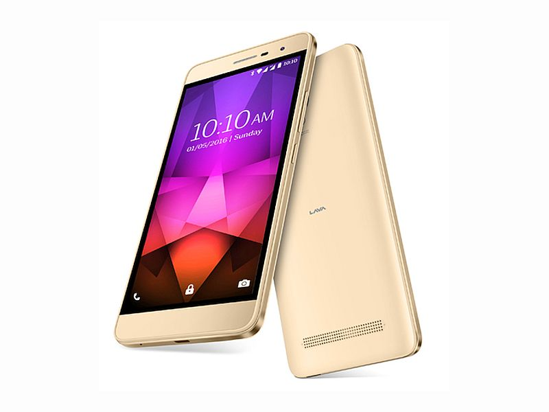 Lava X46 With VoLTE Support Launched at Rs. 7,999