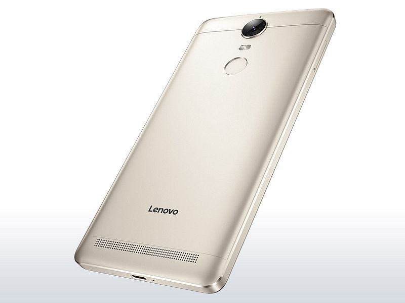 Lenovo Vibe K5 Note to Launch in India Today