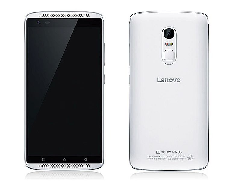 Lenovo Vibe X3 With 5.5-Inch Display, Fingerprint Sensor Launched