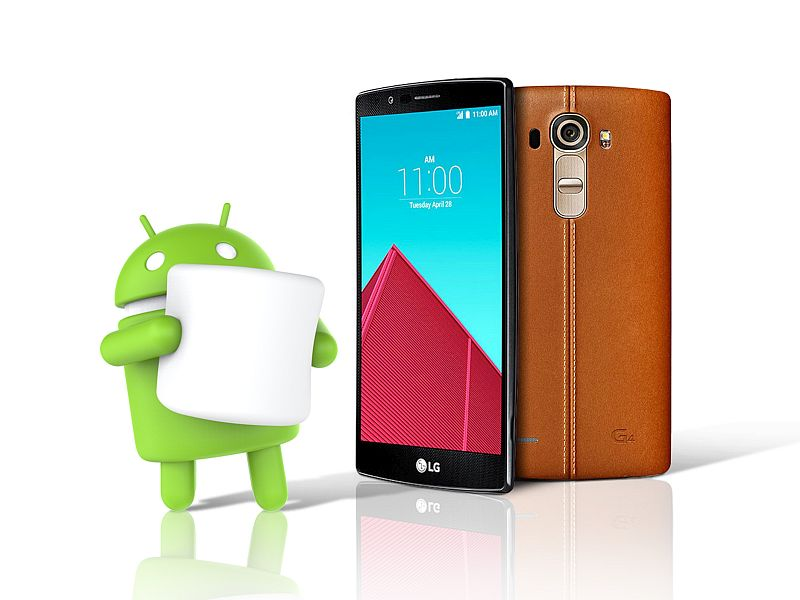 LG G4 Receive Android 6.0 Marshmallow Update today