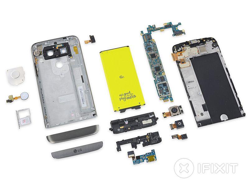 LG G5 Teardown Gives the Modular Smartphone a High Repairability Score