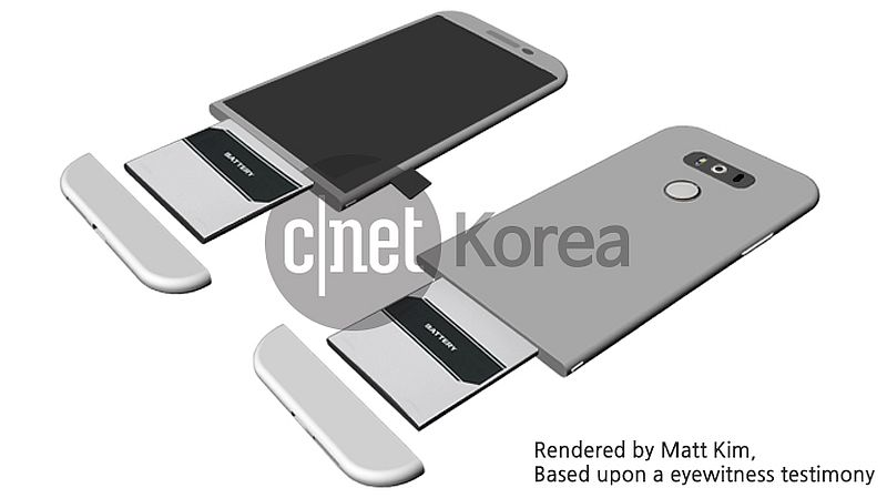 LG G5 Tipped to Have Modular Design in Leaked Mock-Up Image