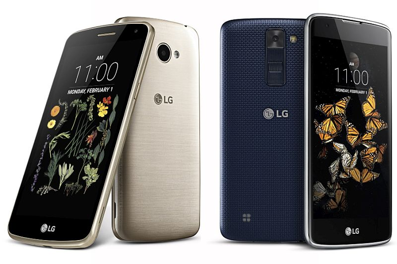 LG K5/K8: New of Smartphones Unveiled