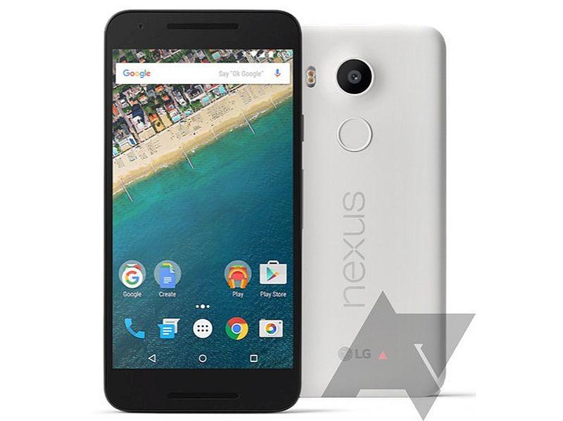 LG Nexus 5X, Huawei Nexus 6P Press Renders Leak