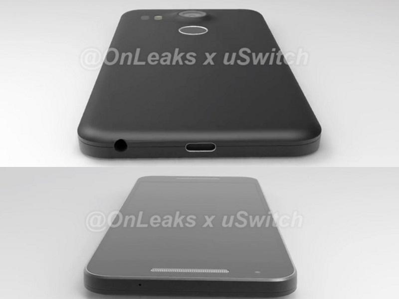 LG Google Nexus 5 (2015) Leaked Renders Tip Design, Specifications