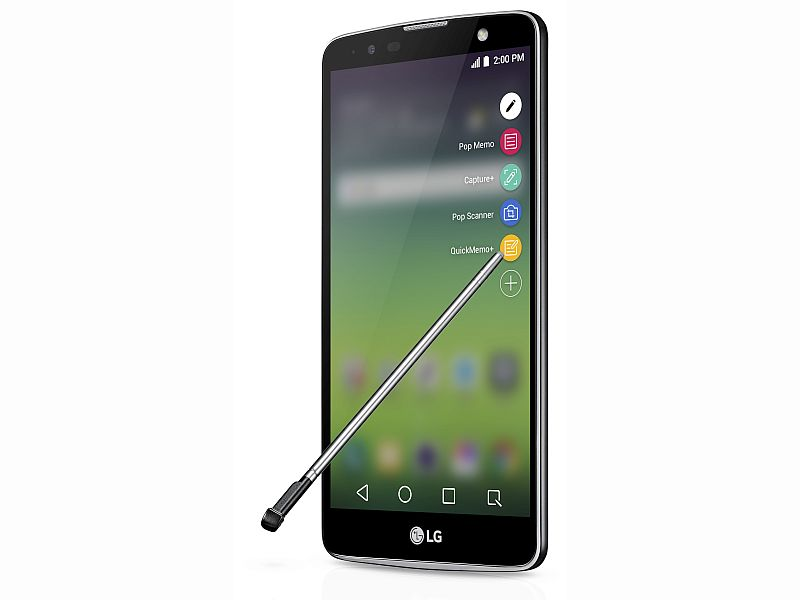 LG Stylus 2 Plus Launched; Global Availability Details Revealed